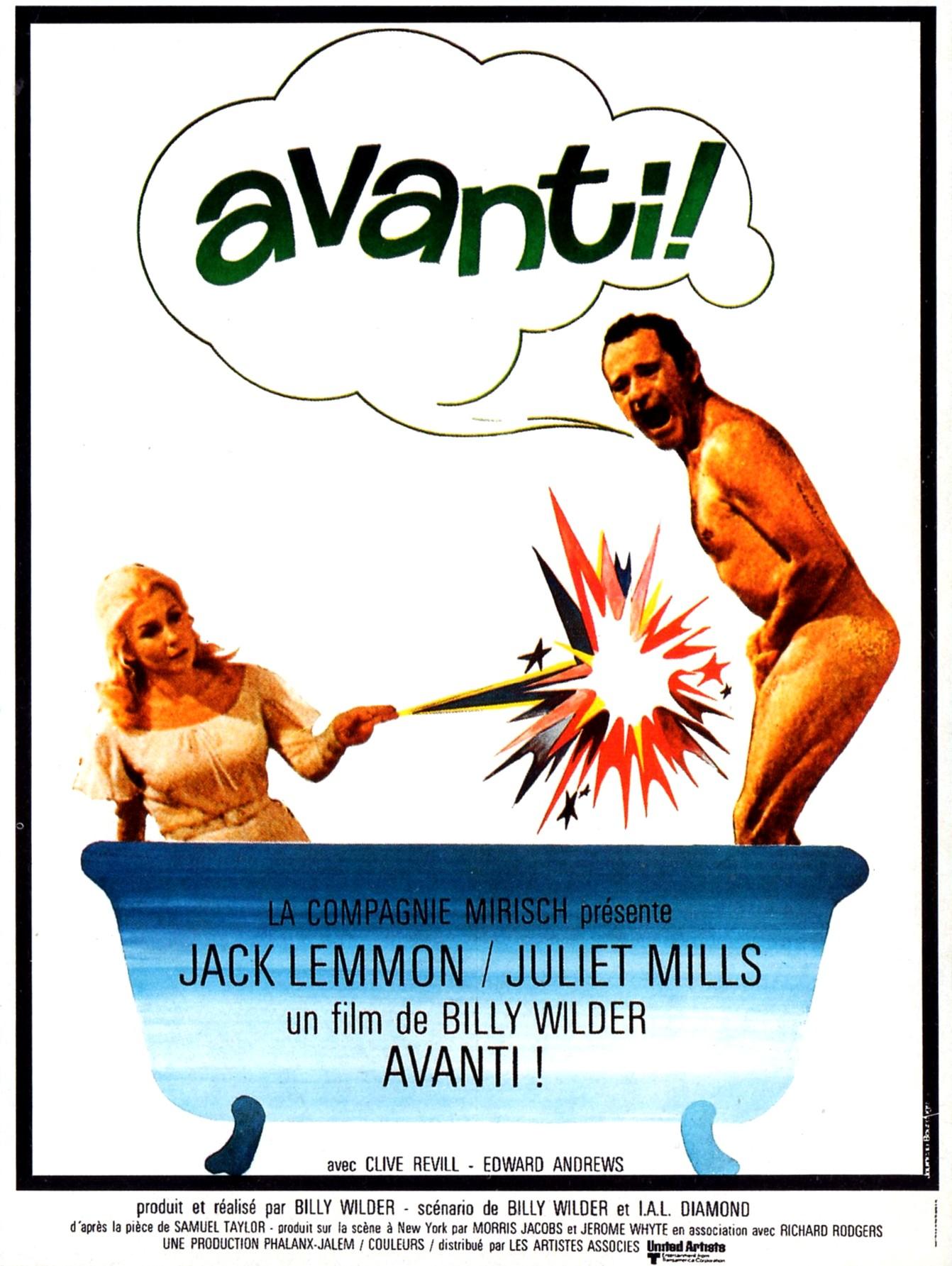 affiche du film Avanti!