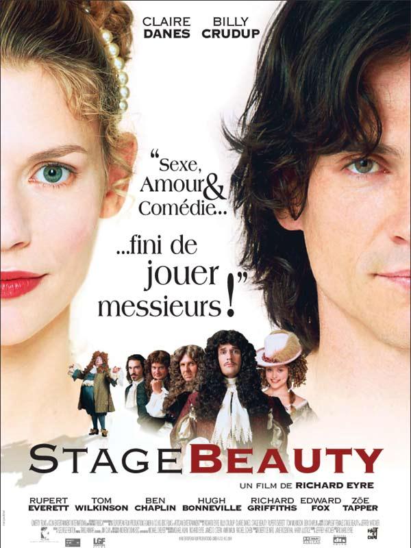 affiche du film Stage Beauty
