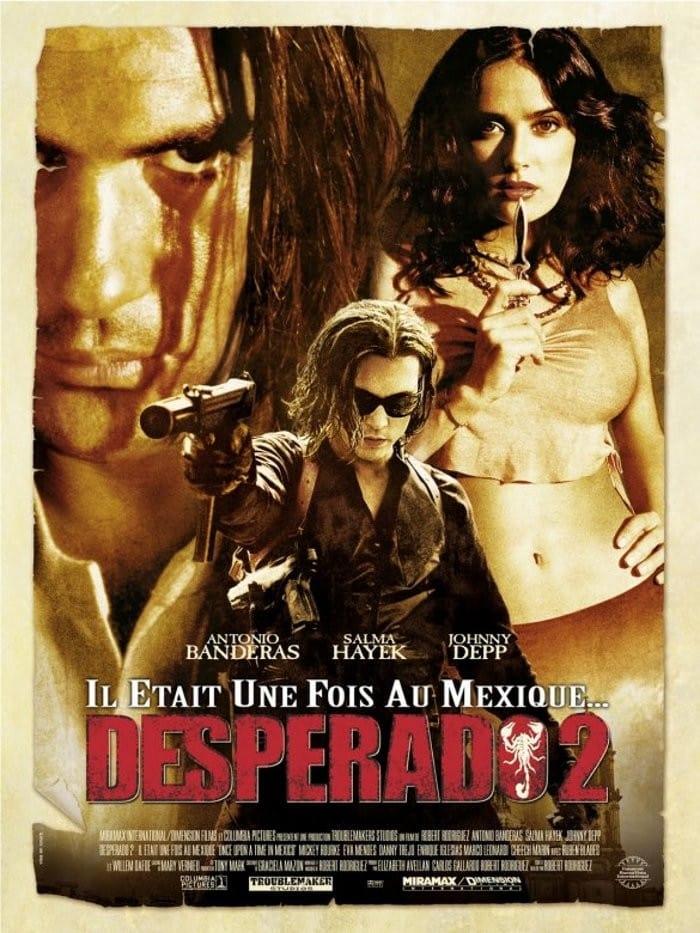 affiche du film Il était une fois au Mexique: Desperado 2