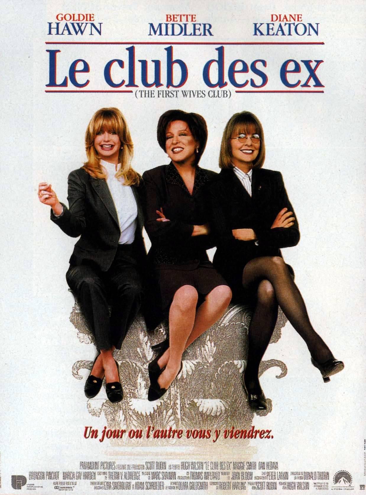 affiche du film Le Club des ex