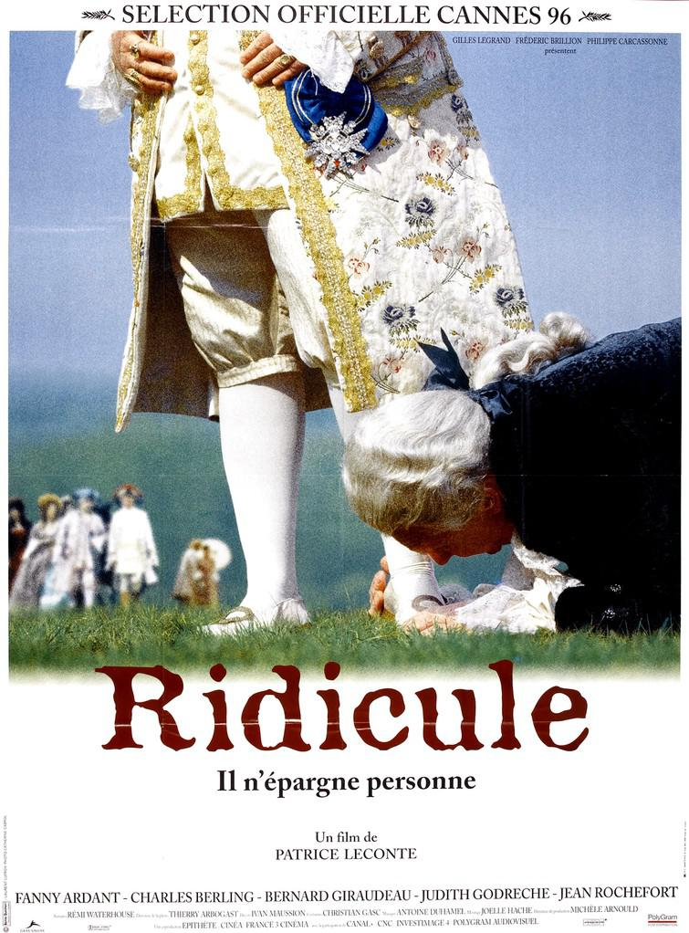 affiche du film Ridicule
