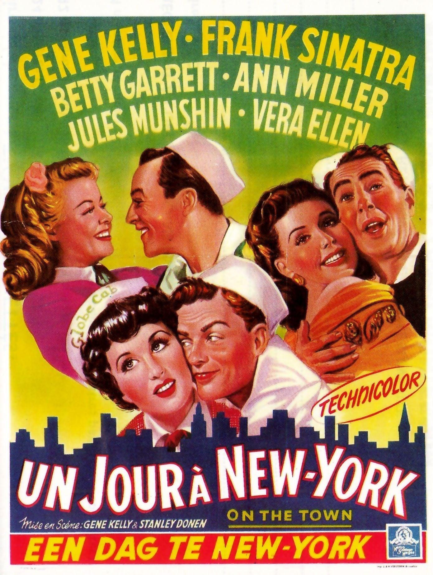 affiche du film Un jour à New York