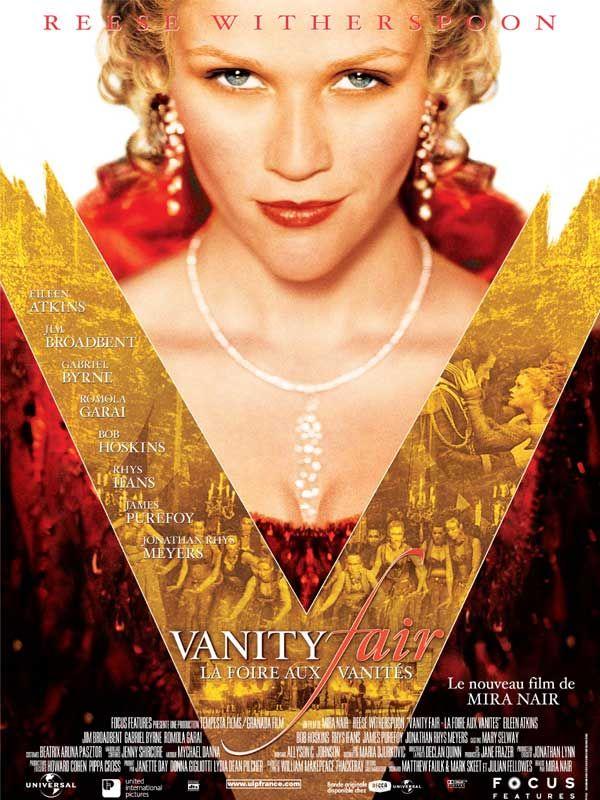 affiche du film Vanity Fair: La foire aux vanités
