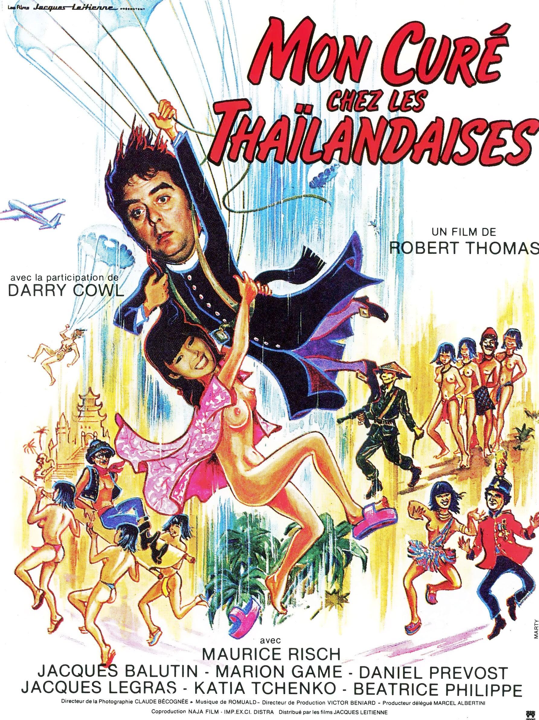 affiche du film Mon curé chez les Thaïlandaises