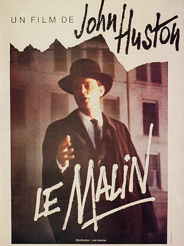 affiche du film Le malin