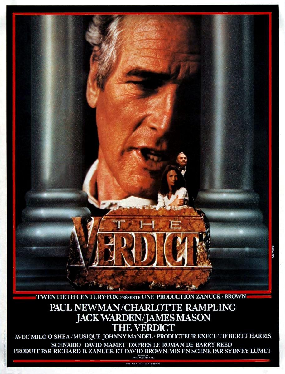 affiche du film Le verdict