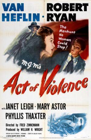 affiche du film Acte de violence