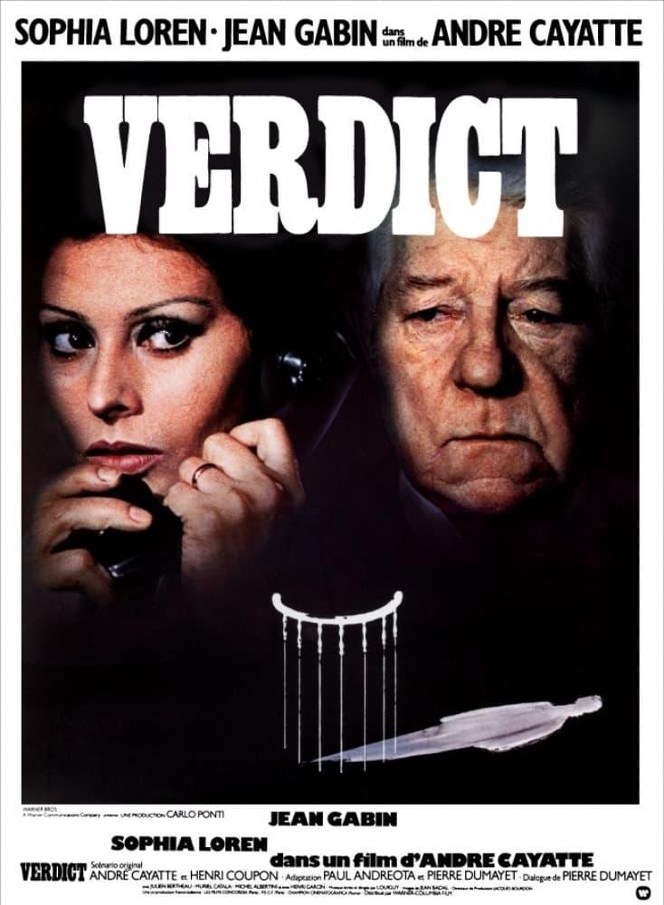 affiche du film Verdict