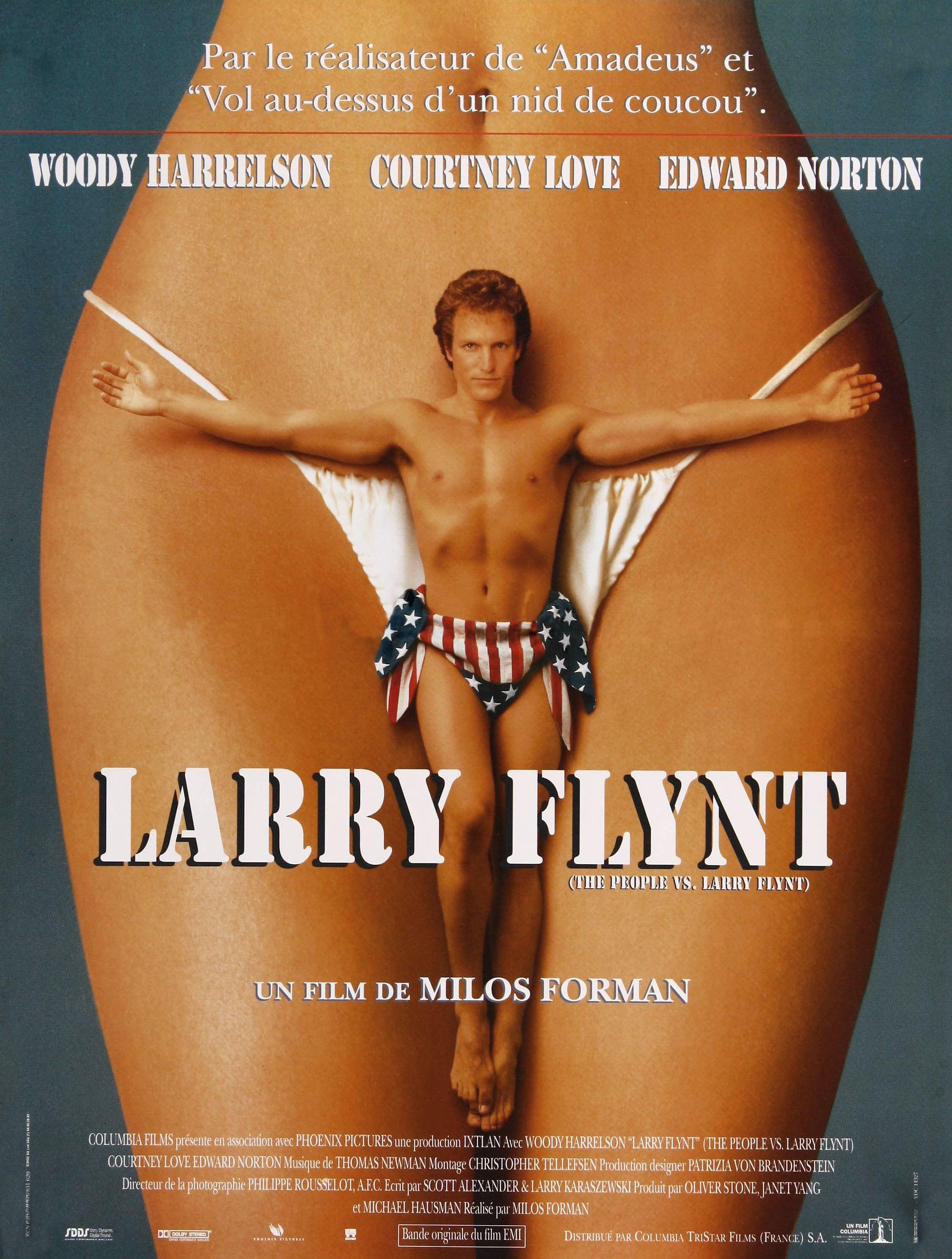 affiche du film Larry Flynt