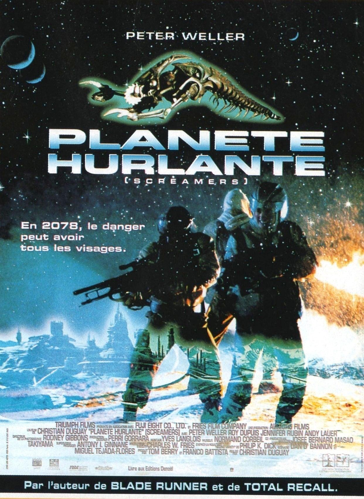 affiche du film Planète hurlante