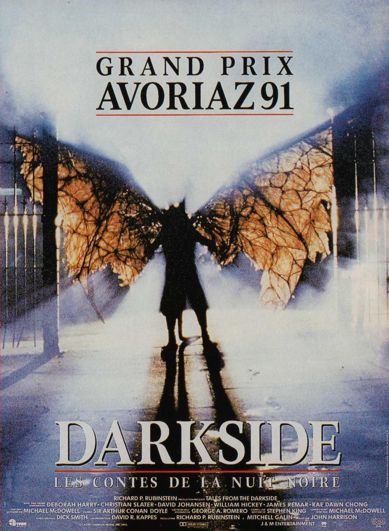 affiche du film Darkside, les contes de la nuit noire