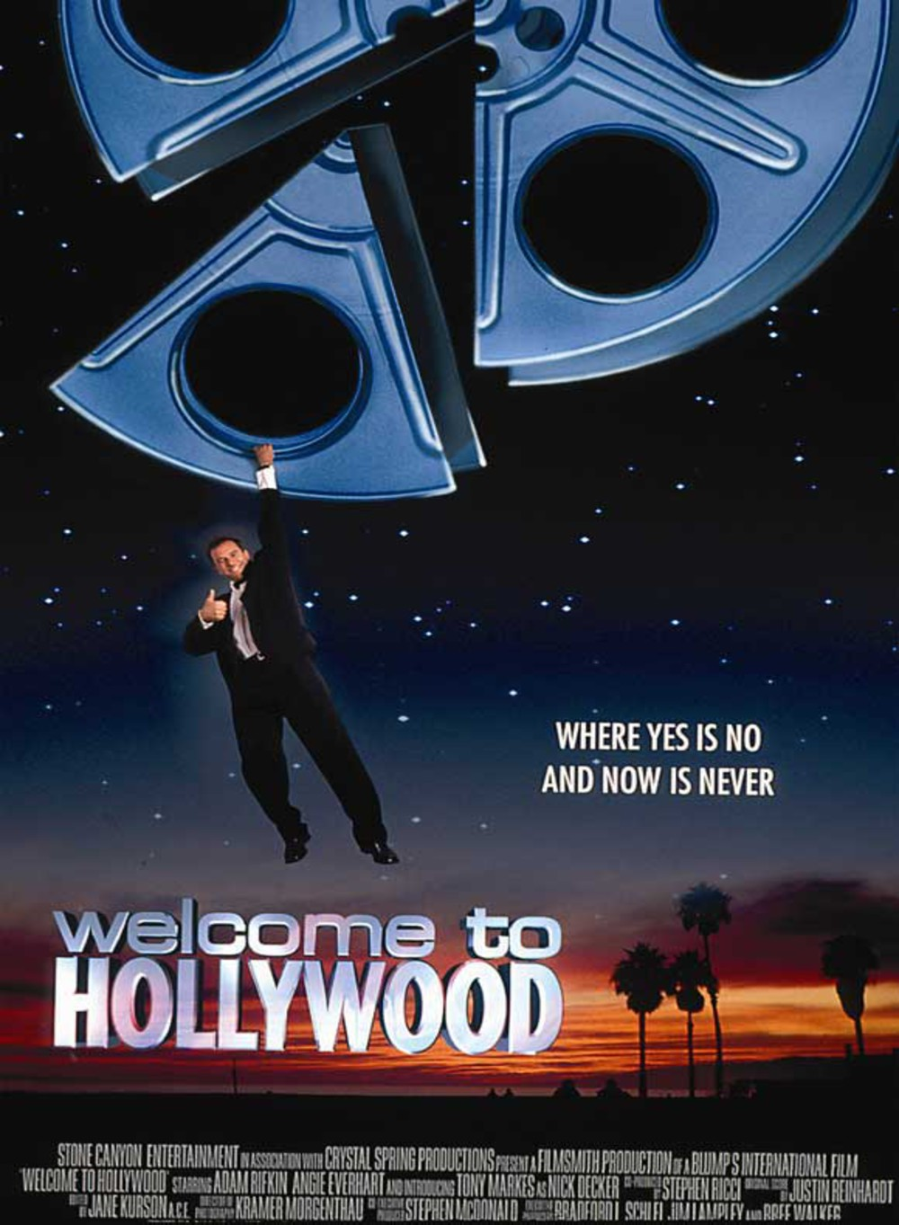 affiche du film Welcome to Hollywood