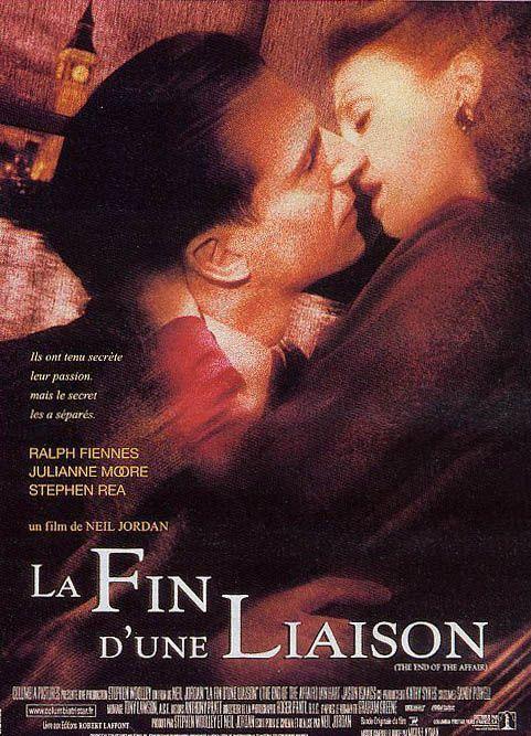 affiche du film La fin d'une liaison