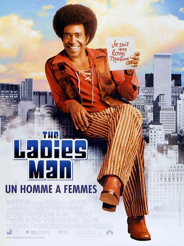 affiche du film The Ladies Man: Un homme à femmes