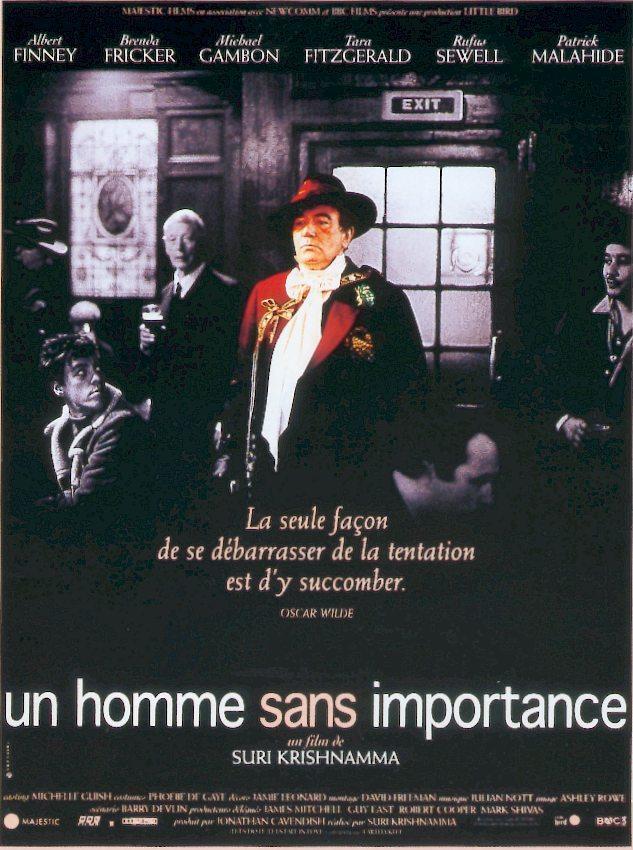 affiche du film Un homme sans importance