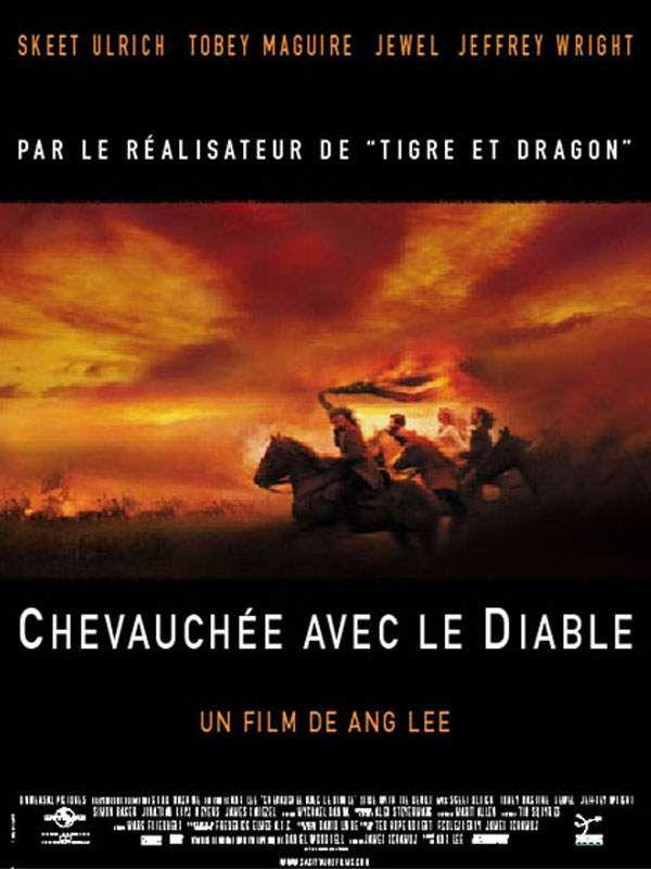 affiche du film Chevauchée avec le diable