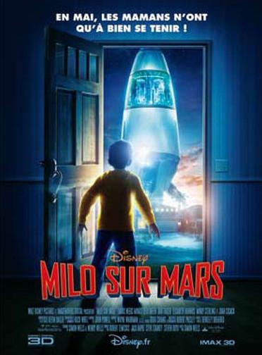affiche du film Milo sur Mars