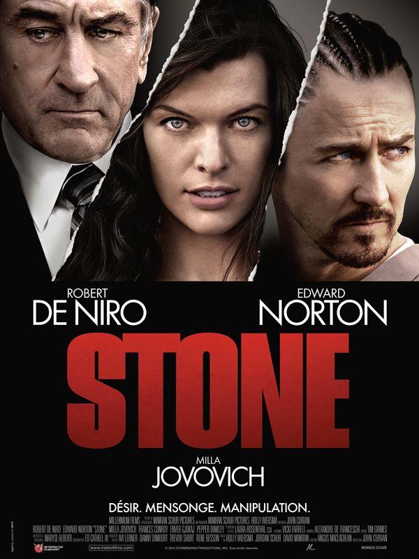 affiche du film Stone
