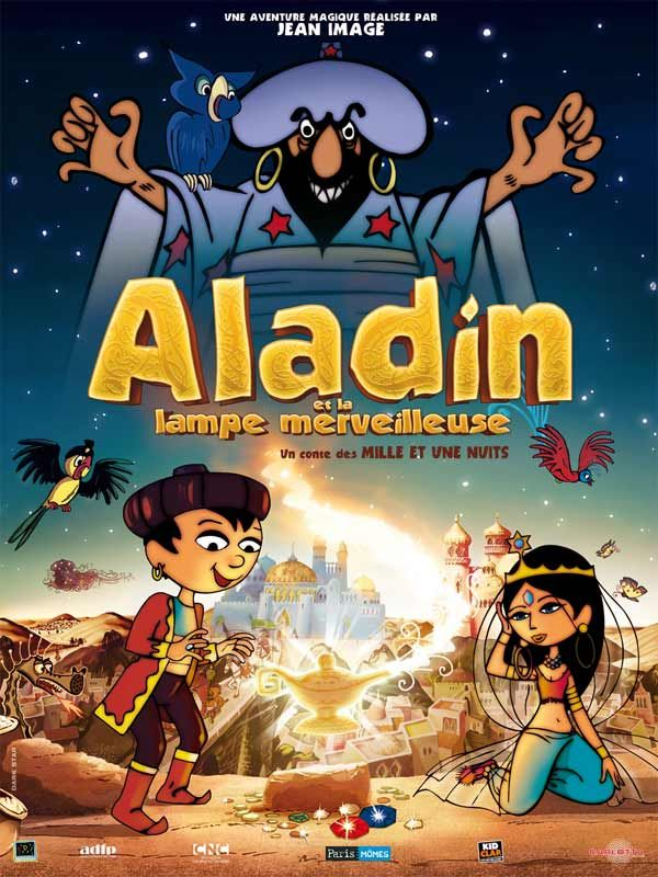 affiche du film Aladin et la lampe merveilleuse
