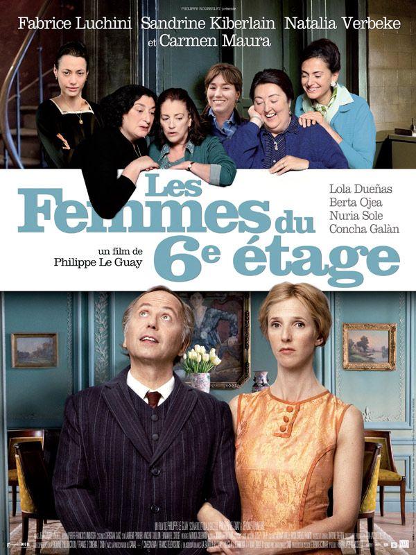 affiche du film Les femmes du 6e étage