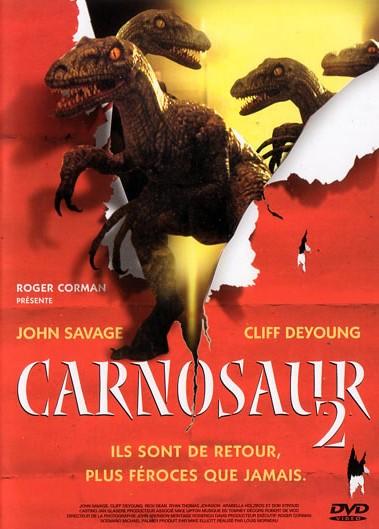 affiche du film Carnosaur 2