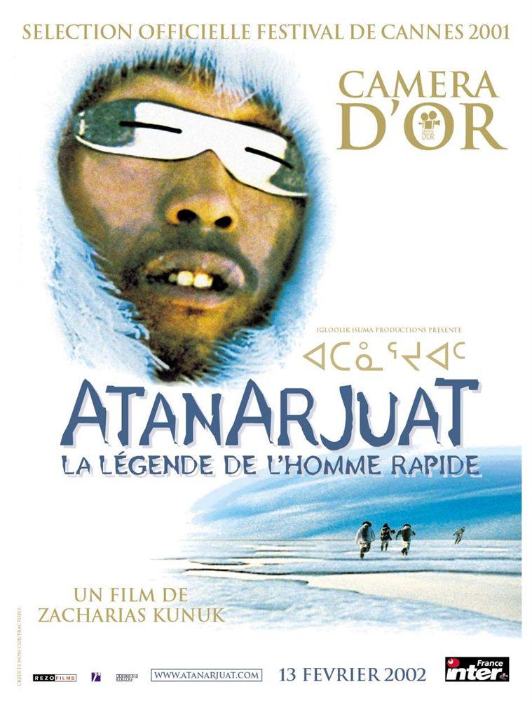 affiche du film Atanarjuat, la légende de l'homme rapide