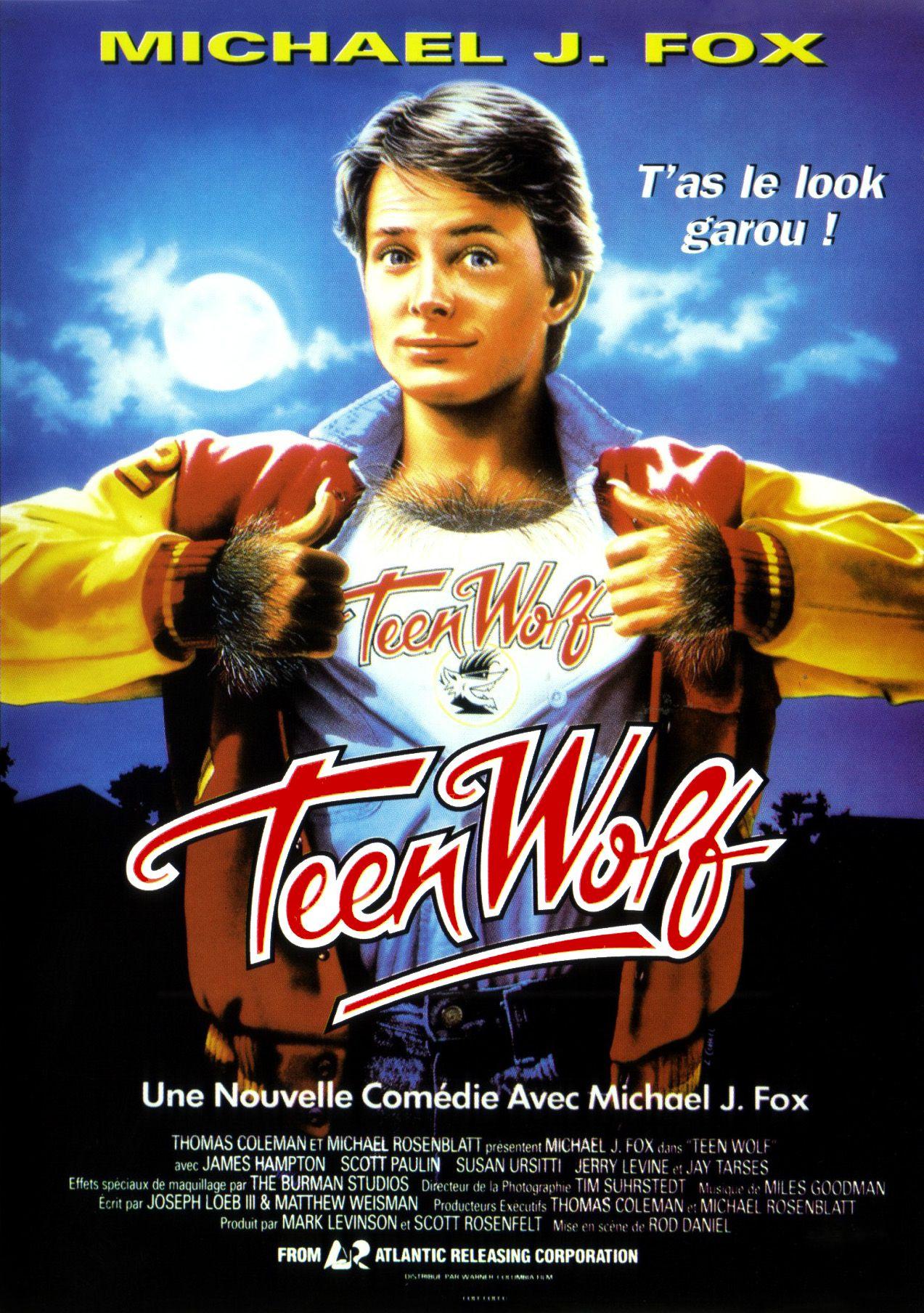 affiche du film Teen Wolf