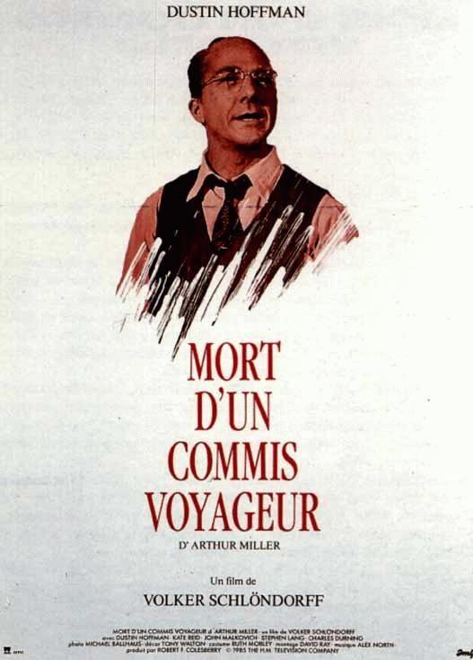 affiche du film Mort d'un commis voyageur (TV) (1985)