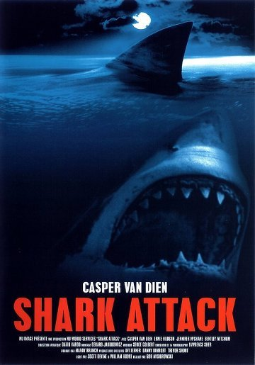 affiche du film Alerte aux requins (TV)
