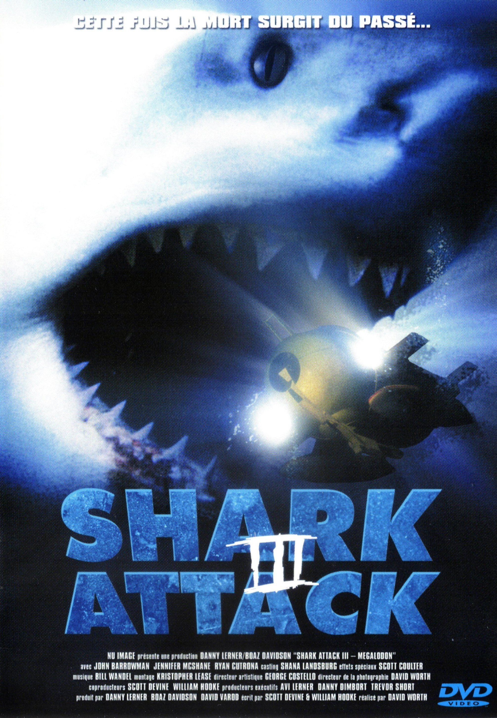 affiche du film Shark Attack III