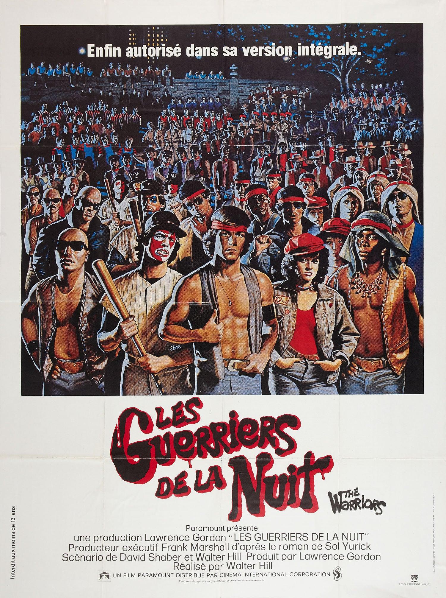 affiche du film Les Guerriers de la nuit