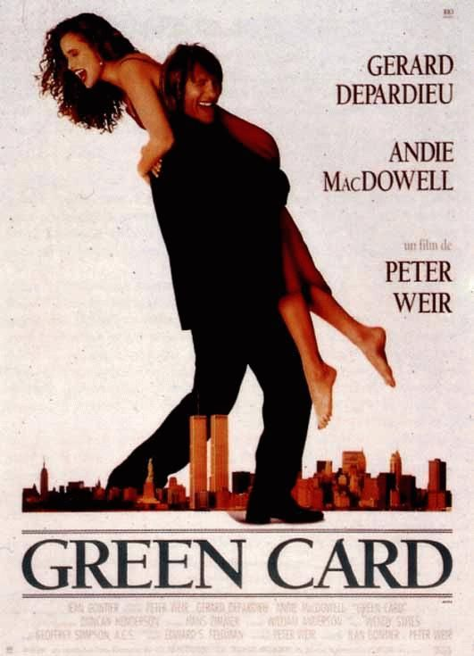 affiche du film Green Card