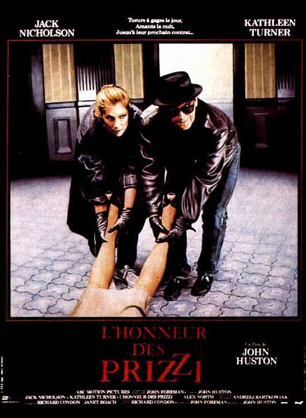 affiche du film L'honneur des Prizzi