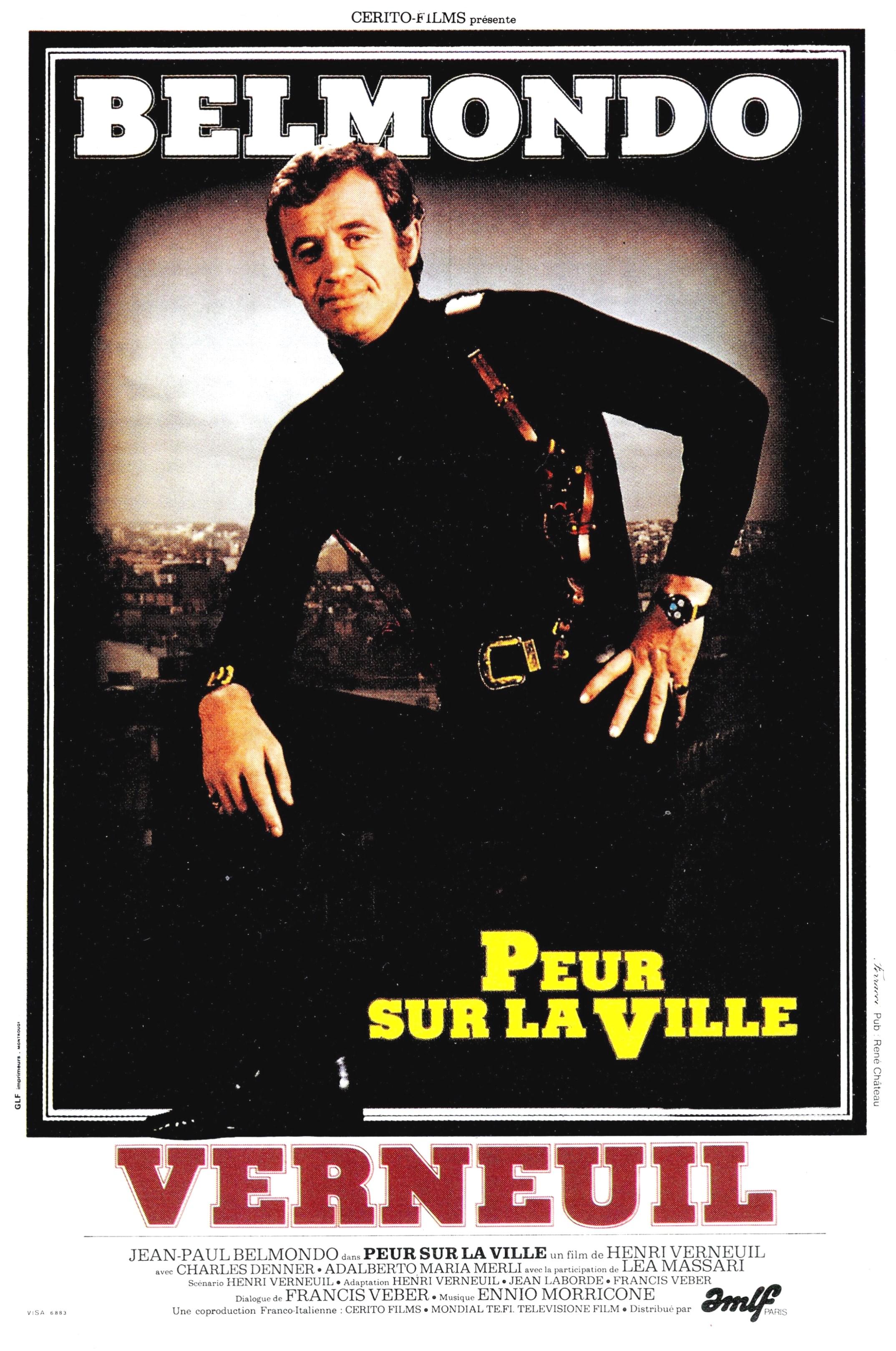 affiche du film Peur sur la ville