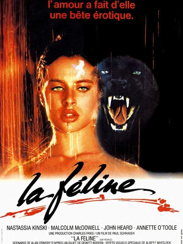 affiche du film La féline (1982)