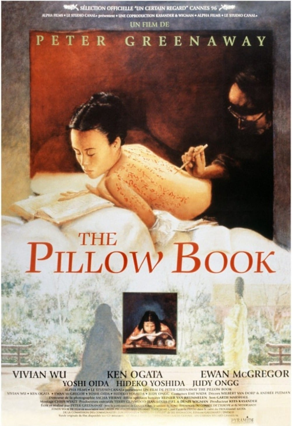 affiche du film The Pillow Book