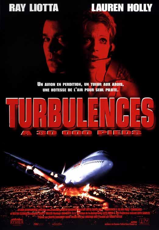 affiche du film Turbulences à 30000 pieds