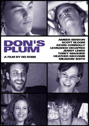 affiche du film Don's Plum