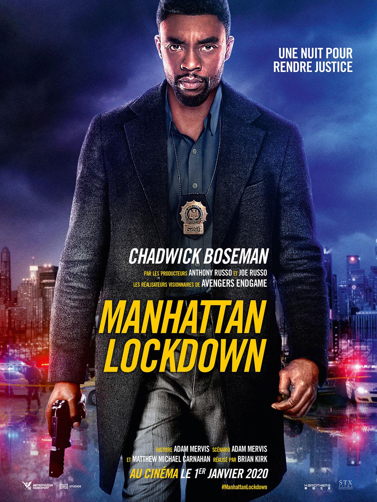 affiche du film Manhattan Lockdown