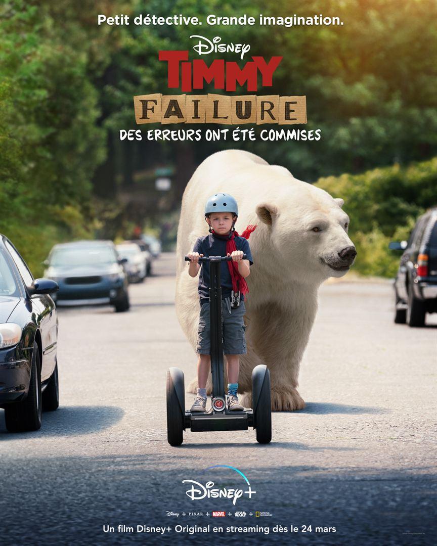 affiche du film Timmy Failure : des erreurs ont été commises