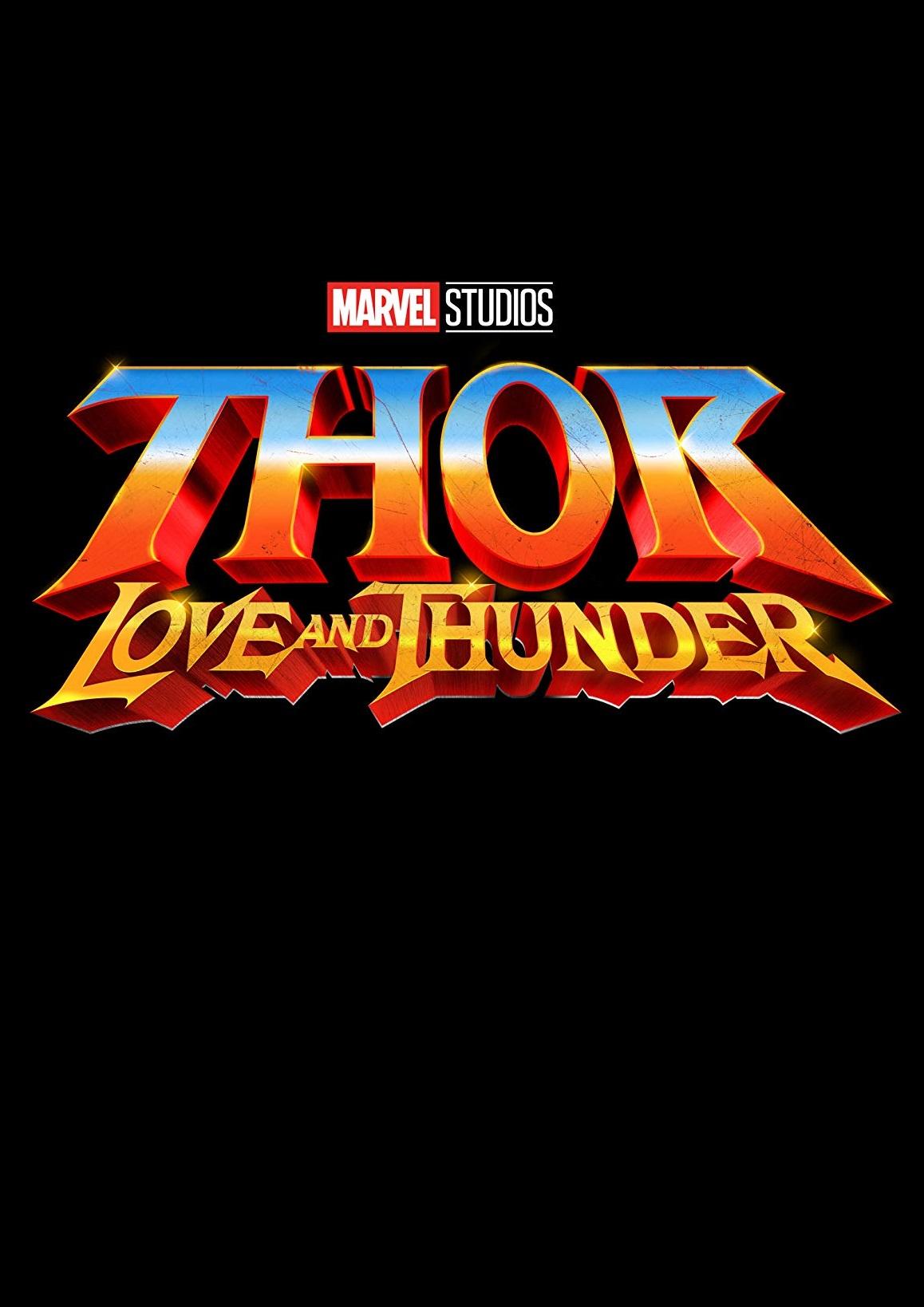 affiche du film Thor: Love and Thunder
