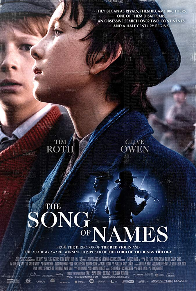 affiche du film The Song of Names