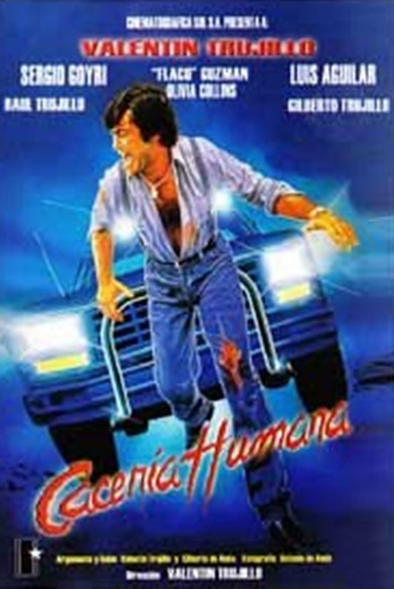 affiche du film Cacería humana