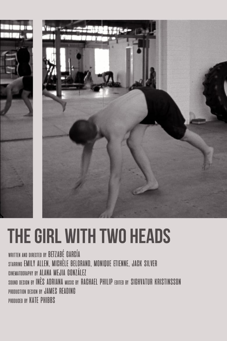 affiche du film The Girl With Two Heads