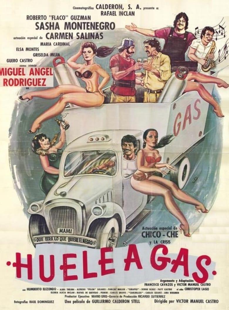 affiche du film Huele a gas