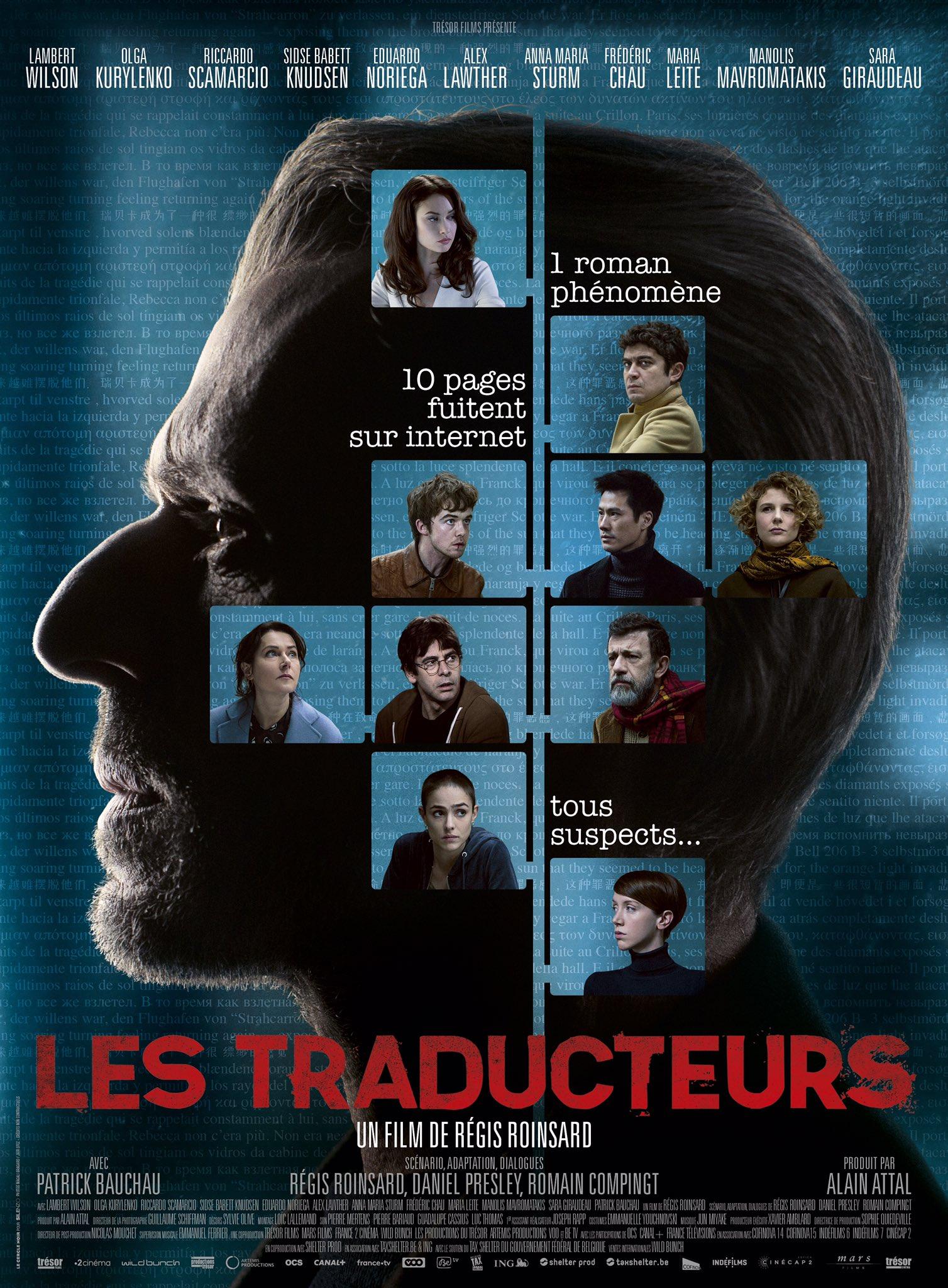 affiche du film Les Traducteurs