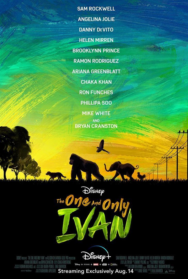 affiche du film Le Seul et unique Ivan
