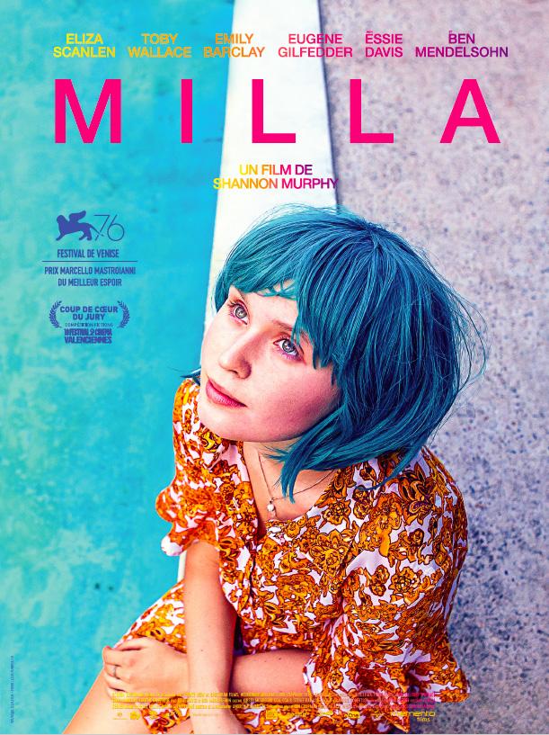 affiche du film Milla