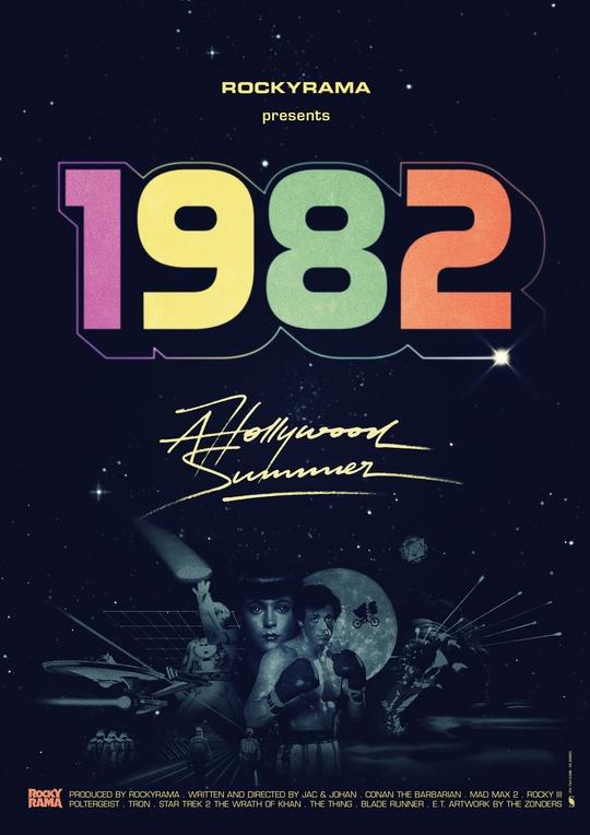 affiche du film Hollywood 1982 : un été magique au cinéma