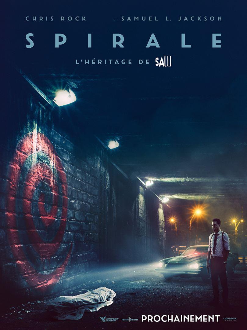 affiche du film Spirale : l'héritage de Saw